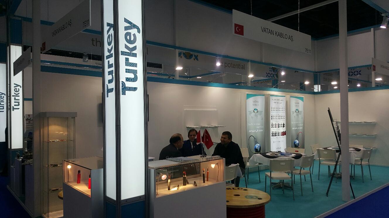 Vatan Kablo-We participated in Middle East Electricity Dubai